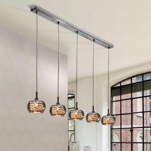 Schuller Arian 193539 Bar Ceiling Pendant 5 Light Steel