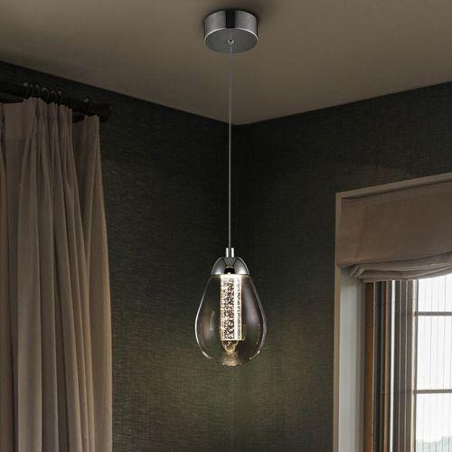 Schuller Taccia 394318 LED Ceiling Pendant 1 Light Chrome