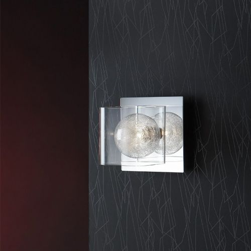 Schuller Eclipse 506847 Single Wall Light Chrome