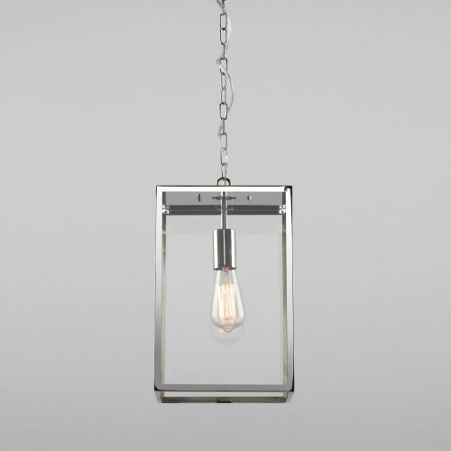 Astro Homefield Pendant 360 1095020 Outdoor Ceiling Pendant 1 Light Polished Nickel