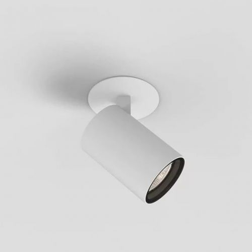 Astro Aqua 1393007 Ceiling Single Recessed Spotlight Matt White