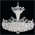 Schonbek 5853 Trilliane 6Lt Spectra Crystal Ceiling Pendant Polished Chrome