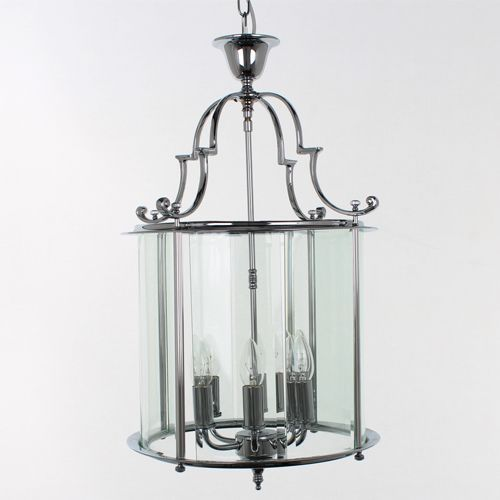 Impex LG07000/15/CH Colchester 6 Light Chrome Indoor Lantern