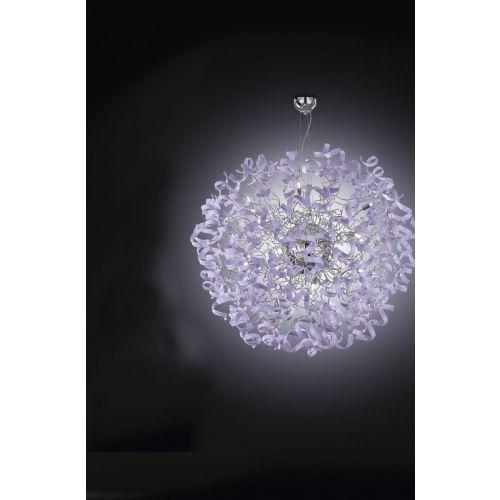 Metal Lux Astro 18 Light Crystal Glass Pendant 206.190.05