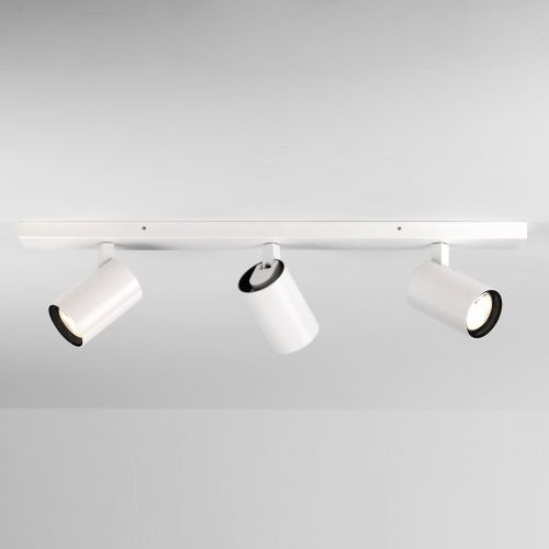 Astro Aqua 1393003 Triple Spotlight Bar Matt White