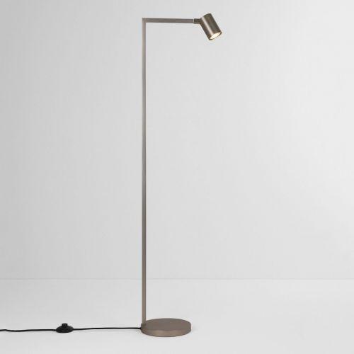 Astro 4583 Ascoli 1Lt Matt Nickel Floor Lamp