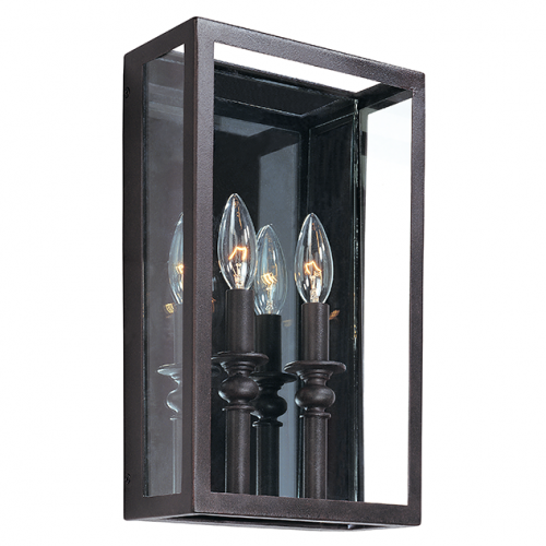 Troy Morgan Wall Light 2 x E14 Deep Bronze B9992DB-CE
