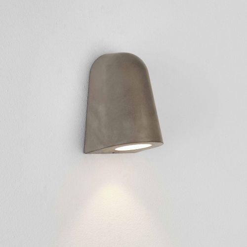 Astro Mast 1317006 1 Light LED Spot Light Concrete Outdoor Coastal Wall Light