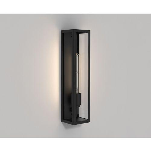 Astro 1402010 Harvard Outdoor Single IP44 Wall Light Matt Black