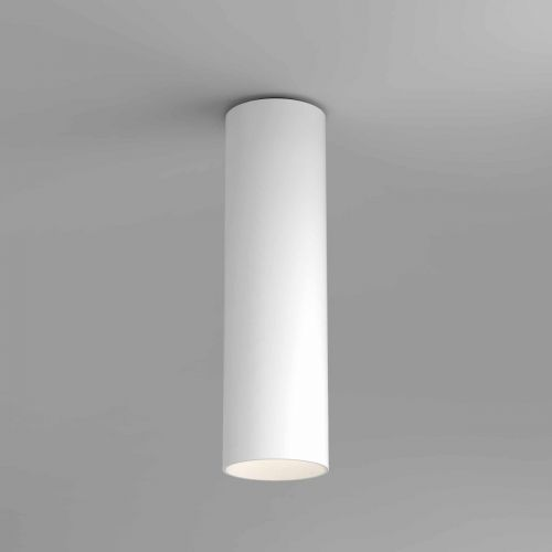 Astro 1399013 Yuma Surface 250 LED Single Ceiling Spotlight Textured White Frame