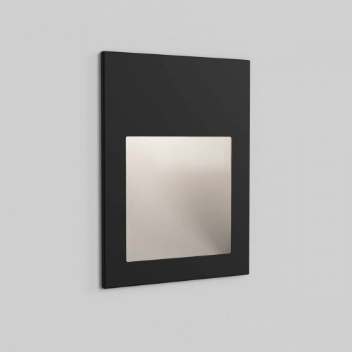 Astro 1212051 Borgo 90 LED Recessed Wall Light Textured Black Frame