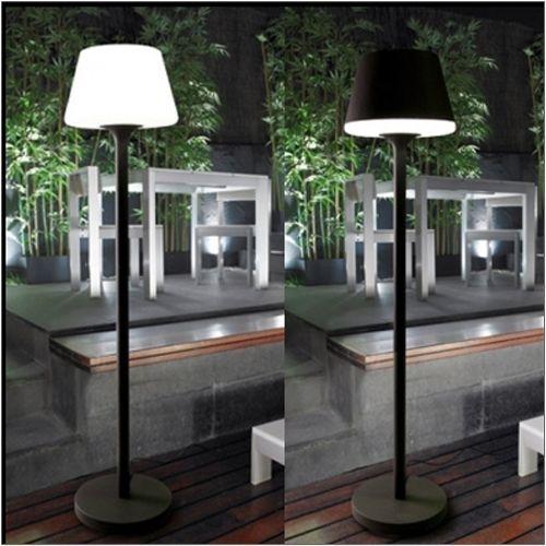 LEDS C4 Moonlight Outdoor Urban Grey Floor Lamp 25-9503-Z5M1