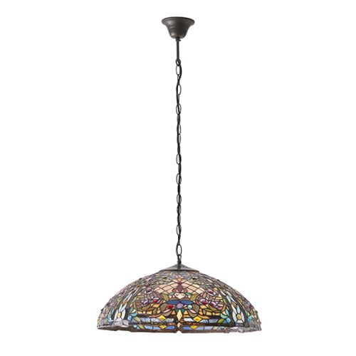 Interiors 1900 Anderson 63902 Tiffany 3 Light Pendant