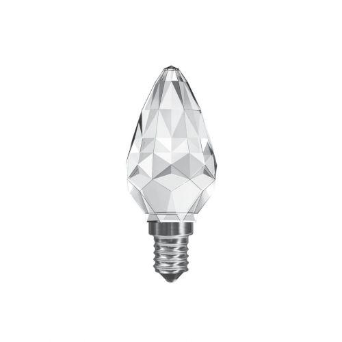 Crystal Candle LED Lamp 3Watt E14 Cap Warm White