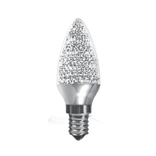 Kaleido Crystal Candle LED Dimmable Lamp 3.5Watt E14 Cap Daylight