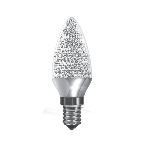 Kaleido Crystal Candle LED Dimmable Lamp 3.5Watt E14 Cap Warm White