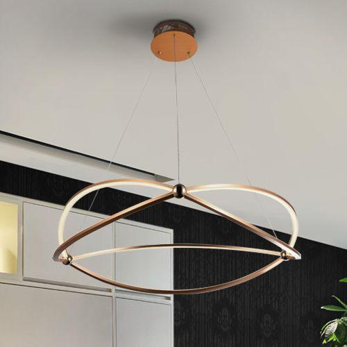Schuller Ocellis 757362 LED Large Ceiling Pendant Copper
