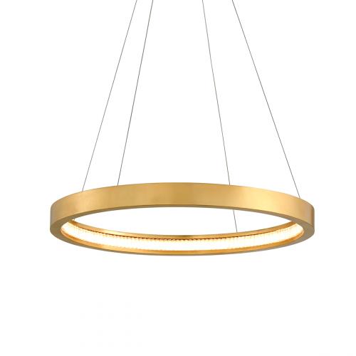Corbett Jasmine Ceiling Medium Pendant LED Gold Leaf 284-41-CE