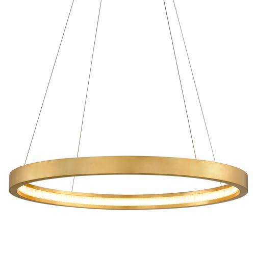 Corbett Jasmine Ceiling Large Pendant LED Gold Leaf 284-42-CE