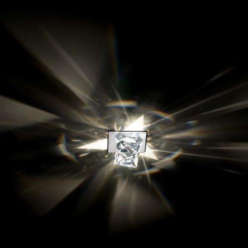 Swarovski A9950NR700121 Octa Swarovski Crystal Spotlight White Frame