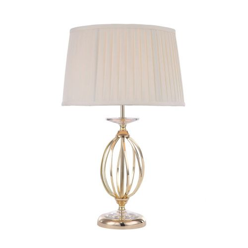 Elstead Aegean 1lt Table Lamp Polished Brass ELS/AG/TL POL BRASS