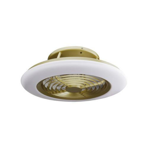 Mantra Alisio M6707 LED Ceiling Fan Gold Frame Remote Controlled