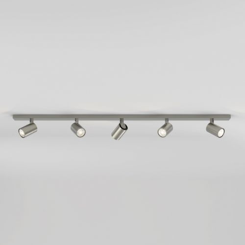 Astro 1286061 Ascoli 5 Light Bar Spotlight Matt Nickel