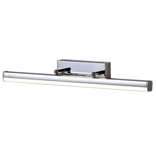 Lekki Kros Bathroom Wall Lamp Small Adjustable 6W LED 4000K 612lm IP44 Chrome LEK3022
