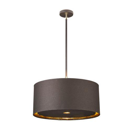 Elstead Balance Pendant Brown/Polished Brass ELS/BALANCE/P BRPB
