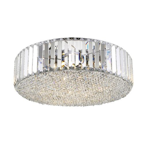 Lekki Bella 5 Light Decorative Pendant Fitting Clear LEK7086