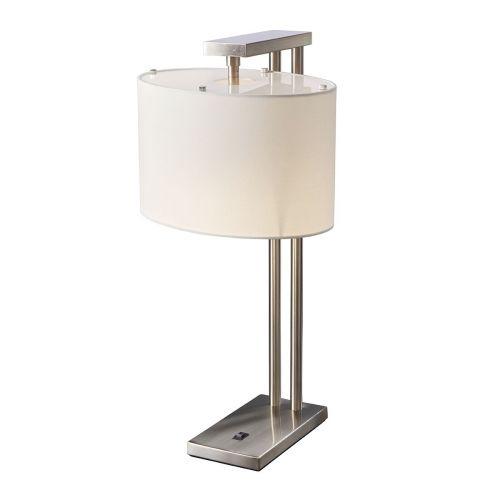Elstead Belmont Table Lamp Brushed Nickel ELS/BELMONT TL
