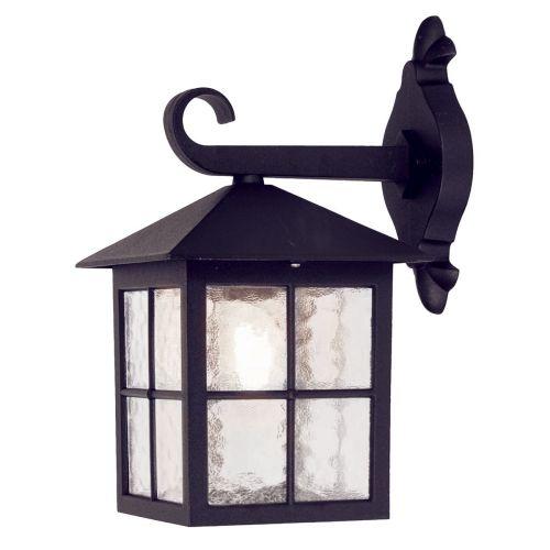 Elstead Winchester 1 Light Outdoor Wall lantern Black 5 Year Warranty BL18