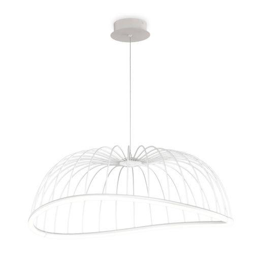 Mantra M6680 Celeste Large Ceiling LED White Pendant