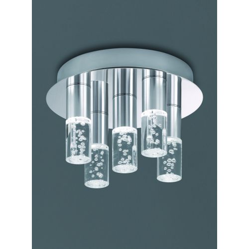 Franklite LED Bathroom Flush Fitting CF5764 Polished Chrome