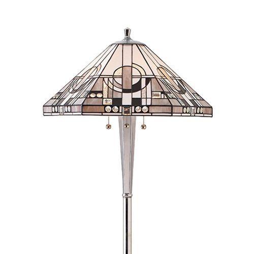 Interiors 1900 Tiffany Metropolitan 3 Light Floor Lamp 70661