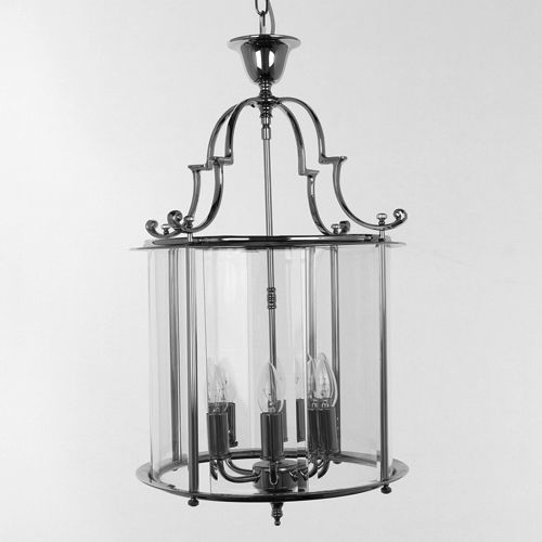 Impex LG07000/15/AB Colchester 6Lt Antique Brass Chain Indoor Lantern