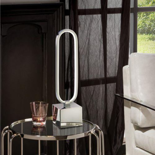 Schuller Colette 787260 LED Table Lamp Chrome Frame