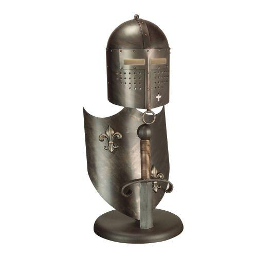 Elstead CRUSADER T/L 1Lt Burnished Bronze Finish Table Lamp