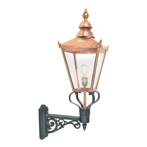 Norlys CS1 Copper Chelsea 1Lt Outdoor Wall Lantern