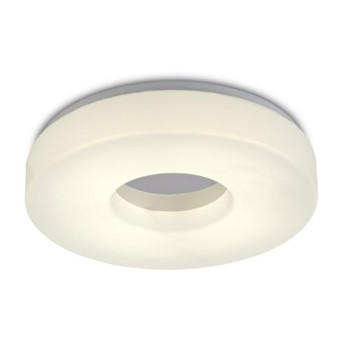 Deco Joop D0402 LED Bathroom Ceiling Flush Light Polished Chrome IP44