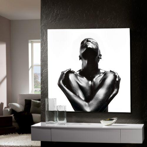 Schuller 978245 Ebano Printed Glass Wall Art