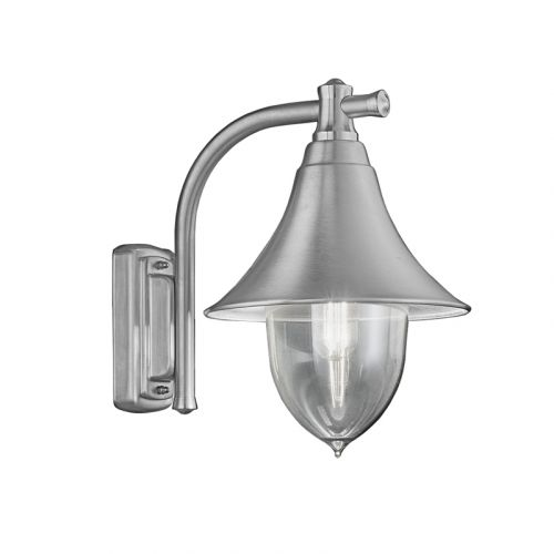 Franklite Lorenz Stainless Steel Classic Italian Wall Light EXT6589