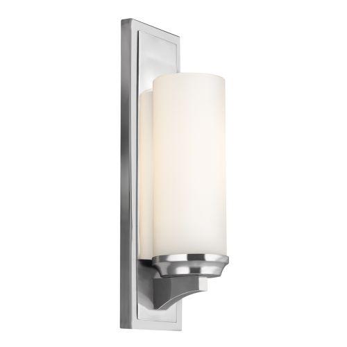 Feiss Amalia 1lt Bathroom Wall Light Polished Chrome ELS/FE/AMALIA1/LBATH