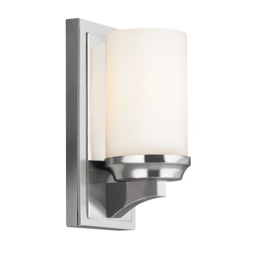 Feiss Amalia 1lt Bathroom Wall Light Polished Chrome ELS/FE/AMALIA1/SBATH
