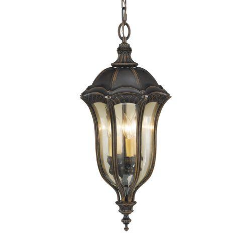 Feiss Baton Rouge Walnut Duo-Mount Outdoor Lantern FE/BATONRG8