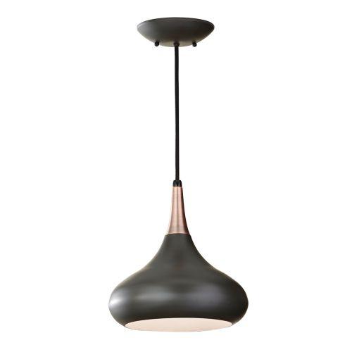 Elstead Beso Dark Bronze Contemporary Pendant FE-BESO-P-M-DBZ