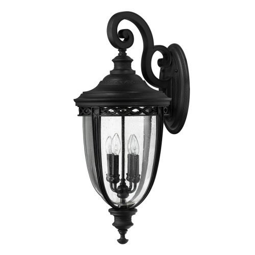 Feiss FE/EB2/XL BLK English Bridle Extra Large Black Wall Lantern