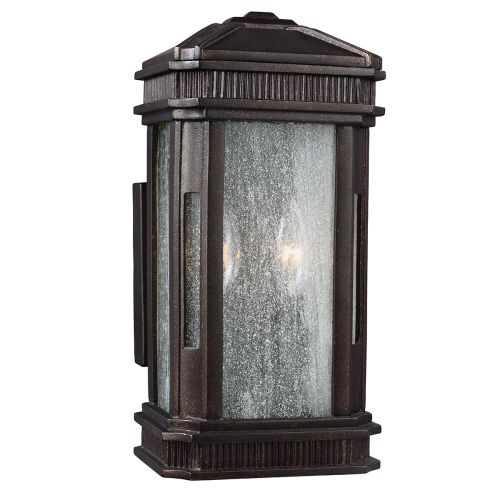 Feiss Federal Small Outdoor Wall Lantern Gilded Bronze ELS/FE/FEDERAL/S