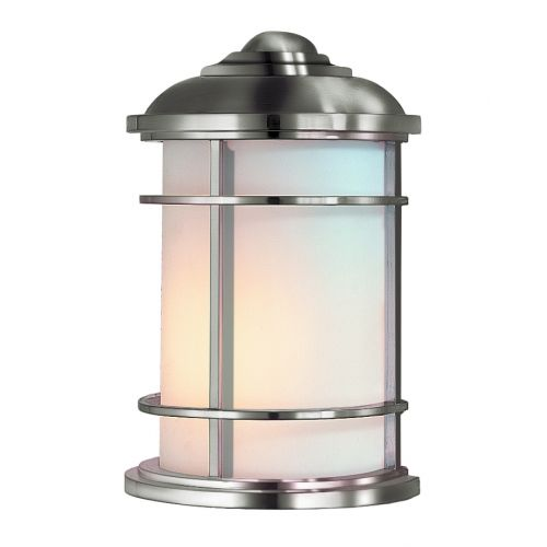 Feiss Lighthouse Half Outdoor Wall Lantern Brushed Steel ELS/FE/LIGHTHOUSE/7