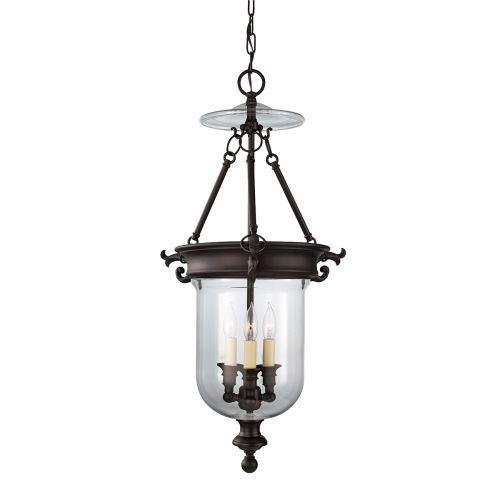 Feiss Luminary Hanging Indoor Lantern Oil Rubbed Bronze FE/LUMINARY/P/B